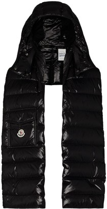 Moncler Padded Hood-Detail Scarf