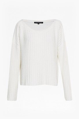French Connection Riva Rib Knit Cropped Jumper