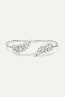 Messika Angel 18-karat White Gold Diamond Bracelet - one size