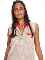 Scotch & Soda Sleeveless Retro Blouse