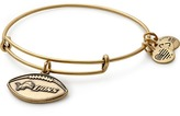Alex and Ani Detroit Lions Football Charm Bangle