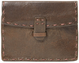 John Varvatos Card Case with Coin Pouch