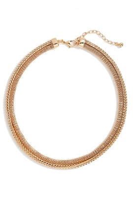 Nordstrom Double Mesh Collar Necklace