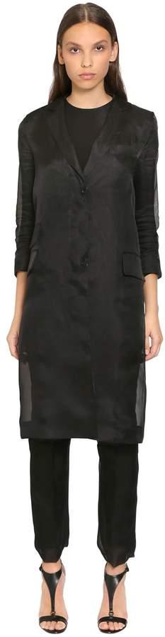Max Mara Silk Organza Coat