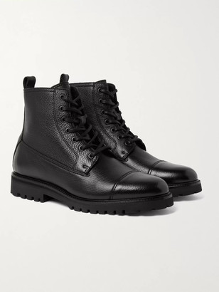 Belstaff Alperton Full-Grain Leather Boots