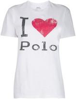 Polo Ralph Lauren logo print T-shirt