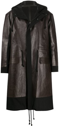 Undercover Panelled Mid-Length Coat