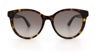 Gucci Gg0702sk Havana Sunglasses