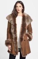 Women's Hiso Genuine Shearling Coat