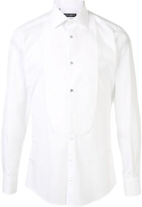 Dolce & Gabbana Bib Tuxedo Shirt