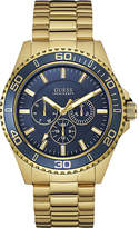 Guess W0172g5 Chaser Gold-plated Stainless Steel Watch