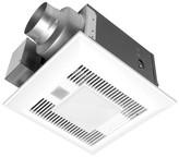 Panasonic WhisperSense 110 CFM Energy Star Bathroom Fan with Light