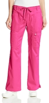 Cherokee Women's Petite Scrubs Luxe Jr. Fit Low Rise Drawstring Cargo Pant