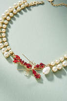 Anton Heunis Lobster Dinner Choker Necklace