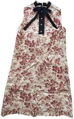 Gucci Beige Linen Dress for Women