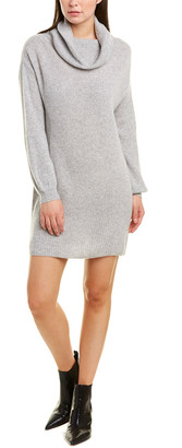 Qi Cowl Cashmere Sweaterdress