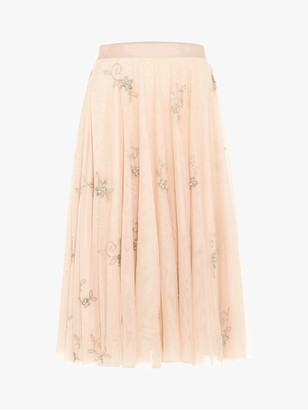 Phase Eight Maude Embellished Bridesmaid Skirt, Cameo