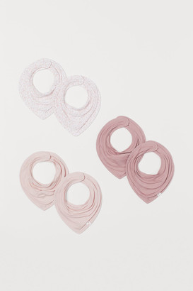 H&M 6-pack Triangular Scarves - Pink