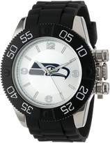 Game Time Men's NFL-BEA-SEA Beast Round Analog Watch