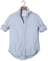Frank And Eileen Womens Eileen Solid Linen Shirt