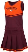 Colosseum Girls Youth Maroon Virginia Tech Hokies Pinky Cheer Dress