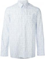 Givenchy geometric star print shirt