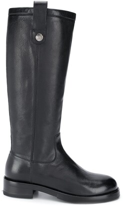 Alberto Fasciani Leather Riding Boots