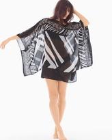 Soma Intimates Marble Kimono Swim Cover Up