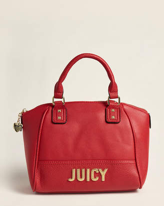 Juicy Couture Cherry Blank Check Satchel