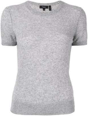 Theory fitted knit T-shirt
