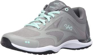 Ryka Women's Grafik 2 Cross-Trainer Shoe Grey/Mint 5 M US
