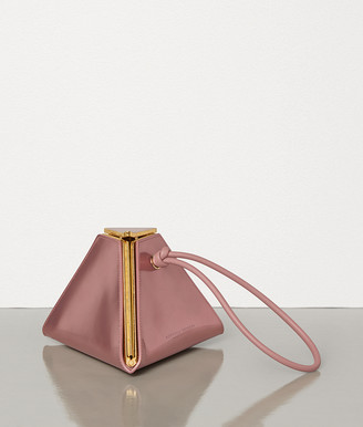 Bottega Veneta PYRAMID BAG IN SPARKLING CALF