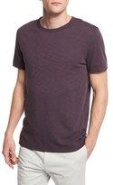 Theory Gaskell Short-Sleeve Crewneck T-Shirt, Deep Rouge