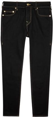 True Religion Jack No Flap black slim-leg jeans
