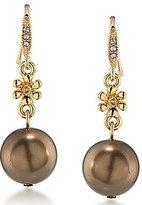 Carolee Metropolitan Club Double-Drop Earrings