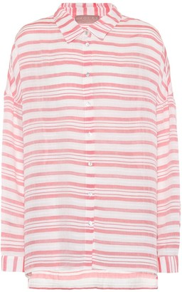 81 Hours 81hours Federic striped shirt