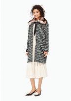Kate Spade Tweed arison coat