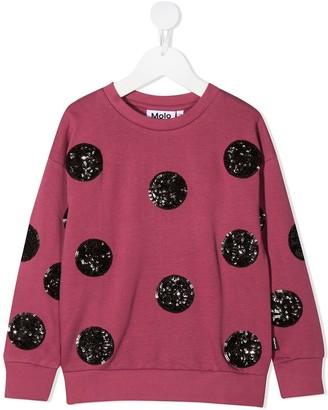 Molo Sequin-Dots Sweatshirt