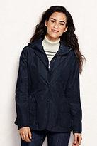 Lands' End Women's Petite Convertible Blazer-Classic Navy