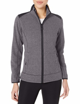Cutter & Buck Women's Cb Weathertec Cedar Park Full-Zip