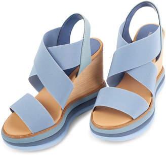 Paloma Barceló Platform Wedge Sandal