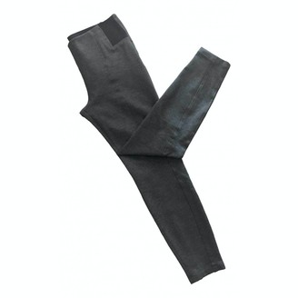Cappellini Anthracite Trousers for Women