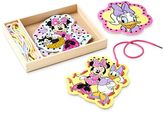 Melissa & Doug Disney Mickey Mouse & Friends Minnie Mouse Lacing Cards by