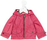 Burberry zipped raincoat - kids - Polyamide/Polyester - 6 mth