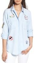Rails Women's Carter Patch Chambray Shirt