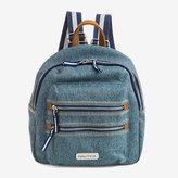 Nautica Sea City Compact Denim Backpack