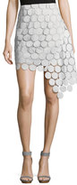 Keepsake Spectrum Lace Asymmetric Mini Skirt
