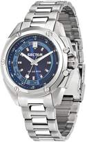Sector Men's Steel Bracelet & Case Quartz Dial Analog Watch R3253581004
