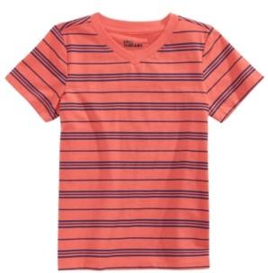 Epic Threads Little Boys Short Sleeve V-Neck Striped T-Shirt