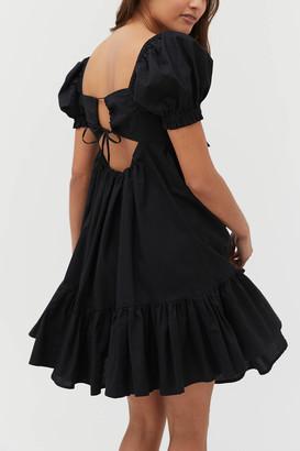 Urban Outfitters Wonderland Tie-Back Babydoll Dress